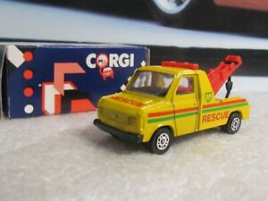 CORGI TOYS - FORD TRANSIT WRECKER - BP  - SMALL SCALE TOY MAIL  CIRCA 1985