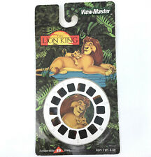 Viewmaster Lion King Disney 3 Reel Set Sealed on Card 2000 Fisher Price 33095