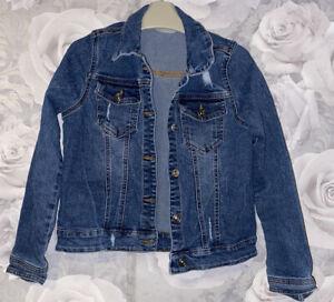 Girls Age 10 (9-10 Years) Denim Jacket From Matalan