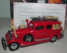 MATCHBOX MODELS OF YESTERYEAR YFE03 1933 CADILLAC FIRE WAGON