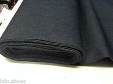 8oz Denim Fabric RAW - 172cm/68 inches extra wide- Classic DARK BLUE Jeans Denim