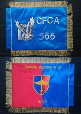 FANION souvenir brodé CPA20 CPA 20 - Commandos Air Choose flag Cocoye
