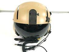 Gentex Flight Helmet SPH5 X Large Dual Visor with Flight Bag