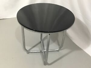 "Art Deco Wolfgang Hoffman style of "" Lloyd's Loom "" Drink Table 1930's Chrome"