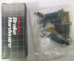 Drum Brake Hardware Kit Rear Coni-Seal BK7161 Fits 71-80 Ford Mercury