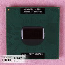 Free shipping SL7EM Intel Pentium M 755 CPU Processor 2 GHz 400 MHz
