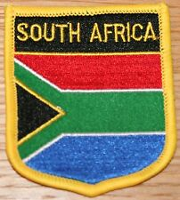 SOUTH AFRICA African Shield Country Flag Embroidered PATCH Badge P1