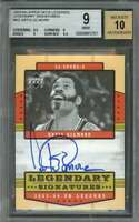Artis Gilmore Card 2003-04 Upper Deck Legends Signatures #Ag BGS 9 (8.5 9 9 9.5)