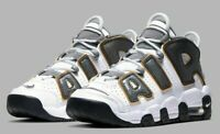 Nike Air More Uptempo SE GS White Anthracite Snakeskin CQ4583-100 Size 4Y