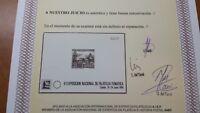 PRUEBA OFICIAL Nº9  CALELLA 1986 CERTIFICADO COMEX VC 1200€ LUJO OFERTA ESPECIAL