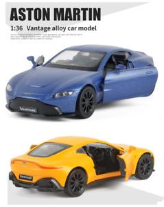 1:36 Aston Martin Vantage Luxury Car Vehicle Pull Back Model Collection Diecast