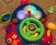 Bright Starts Driving Toy With Lights And Sound RARE