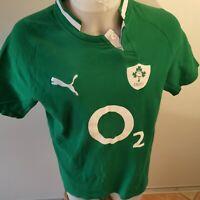 RETRO maillot de rugby IRLANDE  marque puma  taille L