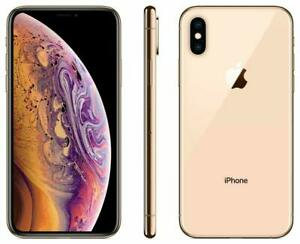Apple iPhone XS Max GOLD 64GB UNLOCKED AT&T Verizon T-Mobile Sprint Free Ship
