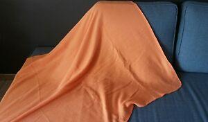 Tagesdecke Wohndecke Kuscheldecke 120x150 cm Orange 100% Polyester, NEU