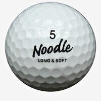 50 Maxfli Noodle Mix Golfbälle im Netzbeutel AAA/AAAA Lakeballs Bälle gebraucht