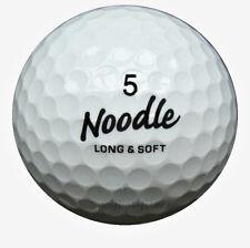 100 maxfli Noodle Mix pelotas de golf en la bolsa de malla AAA/AAAA lakeballs balones de segunda mano