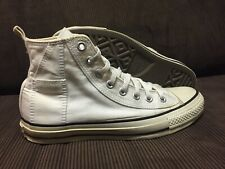 CONVERSE ALL STAR WOMENS SNEAKERS POCKET WHITE HIGH TOPS SZ 8 Womens