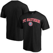 Bayern Munich Fanatics Branded Heart and Soul T-Shirt - Black