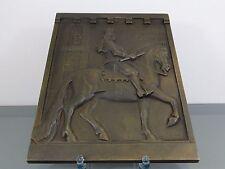 """Bronzerelief, """"Jan von Wellem"""" , bezeichnet """"Wiehe"""", um 1900"""