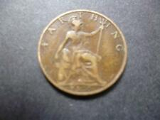 1920 FARTHING COIN KING GEORGE THE FIFTH GOOD USED CONDITION, BRONZE.