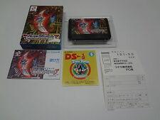 Crisis Force + Registration Card Nintendo Famicom Japan