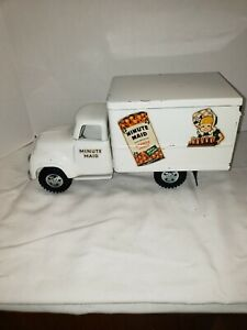 VINTAGE ALL ORIGINAL PRESS STEEL TONKA TOY TRUCK PRIVATE LABEL MINUTE MAID EXC+
