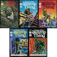 Roots of the Swamp Thing Comic Set 1-2-3-4-5 Lot Len Wein & Berni Wrightson art