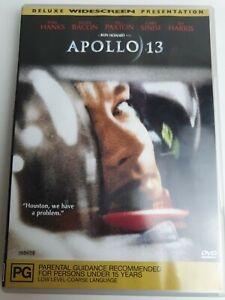 Apollo 13 (DVD, 2002)  TOM HANK GARY SINISE Deluxe Widescreen VGC Region 4
