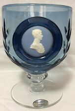 Prince Charles Cameo Goblet Wedgwood Glass Hrh Prince of Wales Goblet
