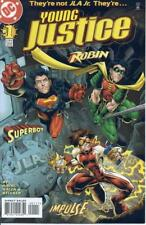 YOUNG JUSTICE (1998) #1-55 COMPLETE SET LOT FULL RUN ROBIN SUPERBOY IMPULSE DC