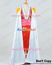 One Piece Cosplay Pirate Empress Boa Hancock White Cloak Red Dress Costume H008