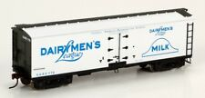 Roundhouse RND84559 40' Wood Milk Car: Dairymen's League  #790 HO Scale