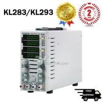 220V LCD Dual Channel DC Electronic Load Instrument Adjustable KL283/KL293