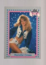 1992 Enor Dallas Cowboys Cheerleaders #14 Natalie Cross card