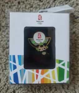 Beijing 2008 Olympic Pin - Jingjing Panda Mascot In Box Sealed Fast Shipping