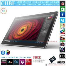 "CUBE KNOTE 5 128GB 4GB Ram 2.4GHZ INTEL 11.6"" Retina WINDOWS 10 Tablet PC de 64 Bits"