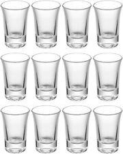 12 Schnapsgläser Stamper 4cl Schnaps Glas Gläser Pinnchen Wodka Tequila Shot