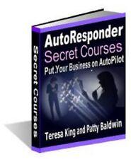 AutoResponder Secret Courses Email Marketing Strategies Websites on Autopilot