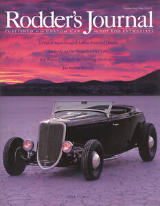 No. 49 Subscriber Cover A Rory Forbes 1934 Ford RODDERS JOURNAL