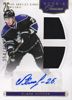 11-12 Rookie Anthology Slava Voynov /499 Auto Jersey RC Panini