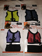 Small 'N' Furry - Walk 'N' Vest 'N' Leash suitabe for small animals
