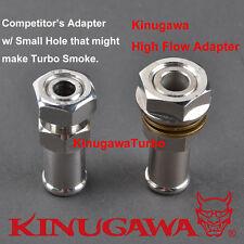 "Kinugawa Turbo Oil Pan Return / Drain Plug Adapter Fitting 5/8"" Hose W/N Welding"