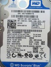 WD3200BEVT-75A23T0 320gb Sata Laptop Drive