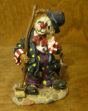 Boyds Bearstones #227739 Emmit Kleansweep...Some Jobs Are Tougher NIB CIRCUS
