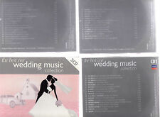 THE BEST EVER WEDDING MUSIC COLLECTION - 3 X CD BOX SET - VARIOS ARTISTS - DECCA