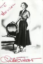 Claire Trevor Autograph Actress In Key Largo / Queen Of Film Noir Signed Photo