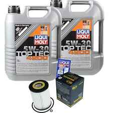 10l LIQUI MOLY Motor-OLIO 5w-30+sct - FILTRO CHRYSLER 300 C TOURING LX 3.0 CRD