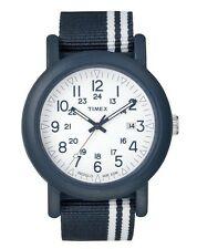 Timex Men's Watch Camper Modern Heritage T2N325 - Nylon Band Blue
