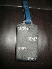 Coach Luggage Tag Sunglass Print Black Multi C4248
